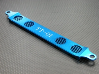 Picture of GPM TT0126 Alloy 6 Battery Hold Down Strap (Blue)