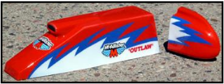 Picture of McAllister 201 Ram Air Sprint Hood & Tank. 1/10 (Unpainted)