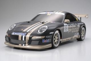 Picture of Tamiya 58407 1/10 TT-01E Porsche 911 GT3 Cup 07 EP