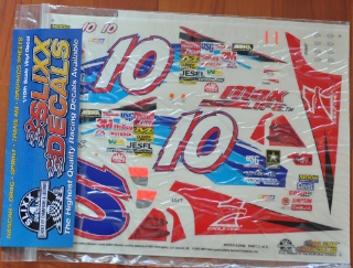 Picture of Slixx Decals Part-RC0310/2192 2003 #10 Johnny Benson (Valvoline) 1/10th