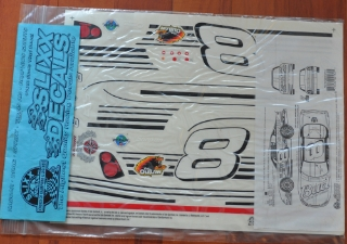 Picture of Slixx Decals Part-RC0208/2182 2002 #8 Dale Earnhardt Jr. (Budwiser) 1/10th