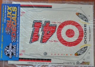 Picture of Slixx Decals Part-RC0341/2208 2003 #41 Casey Mears (Target) 1/10th