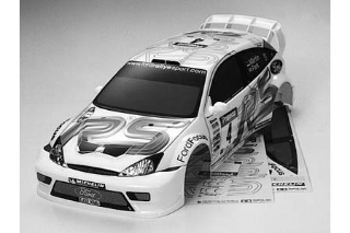 Picture of Tamiya 51037 Ford Focus RSWRC03 Chassis Body Part Set