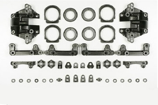 Picture of Tamiya TA05 Carbon Reinforced Bulkhead 53894