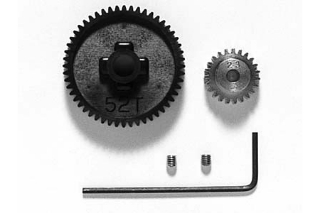 Picture of Tamiya F201 High Speed Gear Set 53552