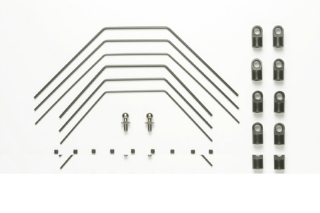 Picture of Tamiya TA05 Stablizer Set (Black) F/R (49383) 4950344493838