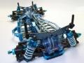 Picture of Tamiya TA05 Bulkhead (Clear Blue) 49390