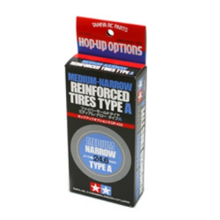 Picture of Tamiya 24mm Reinforced Tires-2pcs - Type A Compound 53433