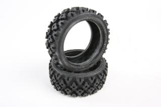 Picture of Tamiya Rally Block Tire Set - (1pr) 50476