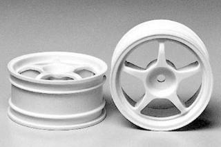 Picture of Tamiya (#53232) 1/10 One-Piece Racing Spoke Wheels (26mm)