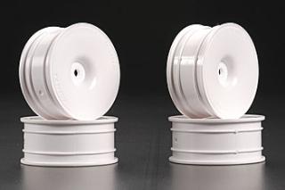 Picture of Tamiya (#53473) Medium-Narrow White Dish Wheels (Offset+2)