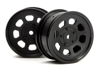 Picture of HPI STOCK CAR WHEEL 26mm BLACK (1mm OFFSET) 3741