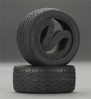 Picture of HPI Racing Vintage Racing Tire 26mm D Compound (2) 4793