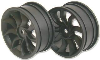 Picture of SPEEDMIND Turbine-Blade Racing Wheel 24mm Black 0-offset 4 p GT504B