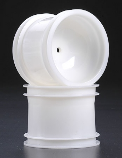 """Picture of Traxxas Dyeable 2.2"""" Front Truck Wheel White (2) 1974"""