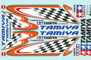 Picture of Tamiya 53550 Body Sticker Checker Flag - Type A