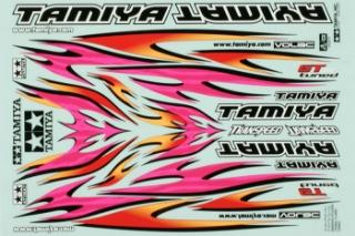 Picture of Tamiya 53840 Marking Sticker - Tribal Flame Design