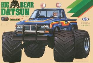 Picture of Tamiya Vintage MARUI Big bear Datsun Pickup 1/12 RC Monster Truck Tamiya