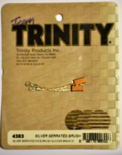Picture of Team Trinity Silver Serrated Brush 4383