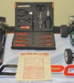 Picture of Tamiya Racing Factory (TRF) tool set Red #49292 - Complete with Extras