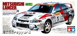 Picture of Tamiya 58199 1997 Mitsubishi Lancer Evolution 4 Chassis Body Part Set