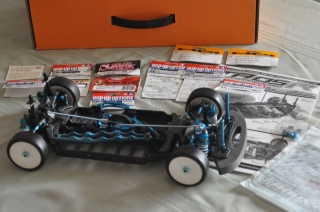 Picture of Tamiya TA05-R 1/10 RC Chassis Kit 49418 - Assembled