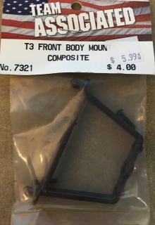 Picture of Team Associated 7321 T3 Front Body Mount Composite