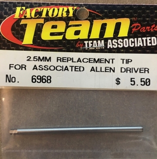 Picture of Team Associated 6968 2.5mm Replacement Tip for Associated Allen Driver