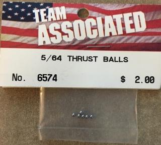 Picture of Team Associated 6574 5/64 Thrust Balls