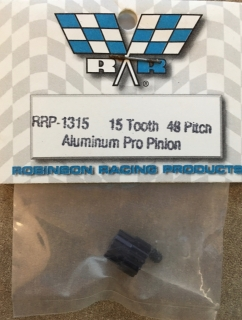 Picture of RRP 1315 15 Tooth 48 Pitch Aluminum Pro Pinion