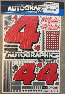 Picture of Autographics 170-4 #4 NASCAR RC Car 1/10th Scale