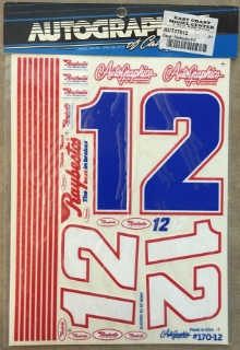 Picture of Autographics 170-12 #12 Raybestos NASCAR RC Car 1/10th Scale