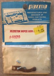 Picture of Parma 4020 Resistor Wiper Arm & Button
