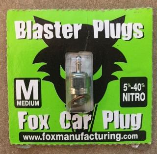 Picture of Blaster Plugs Medium Fox Car Plug
