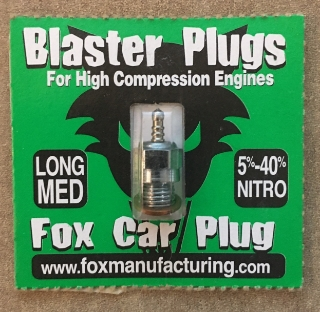 Picture of Blaster Plugs Long Medium Fox Car Plug