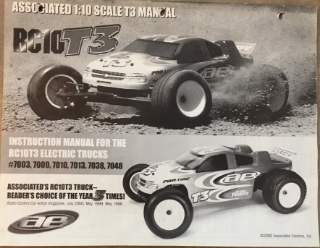 Picture of Team Associated RC10 T3 Instruction Manual