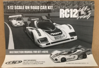 Picture of Team Associated RC12 L3 Instruction Manual