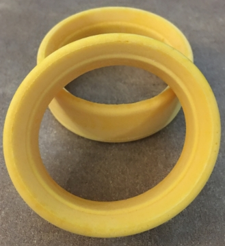 Picture of Speed Mind Standard Profile Soft Yellow 24mm Moulded Inserts 2pcs